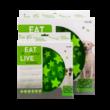 Eat Slow Live Longer Star Green