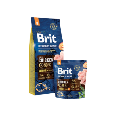 Brit Premium by Nature Medium Junior