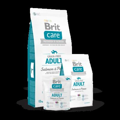 Brit Care Grain-Free Adult Salmon & Potato kutyatáp