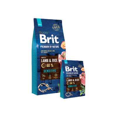 Brit Premium by Nature Sensitive bárány és rizs