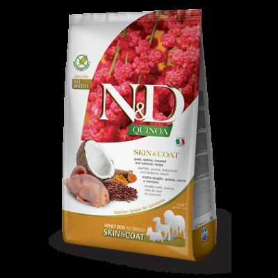 N&D Dog Quinoa Skin&Coat Fürj