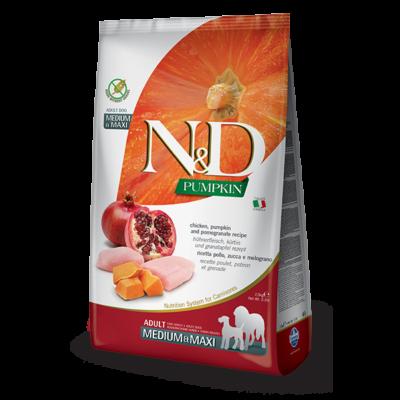 N&D Grain free bárány és áfonya Adult Medium