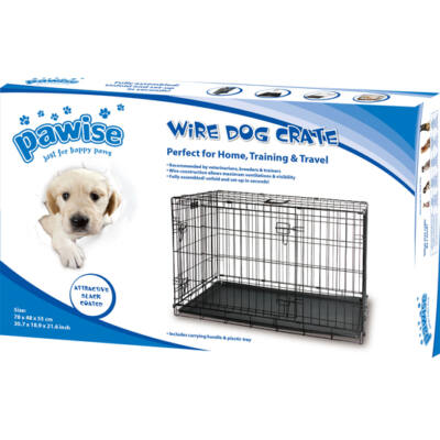 Pawise Wire kutya kennel