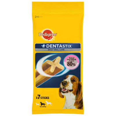 Pedigree Dentastix 7db med/Large 180g
