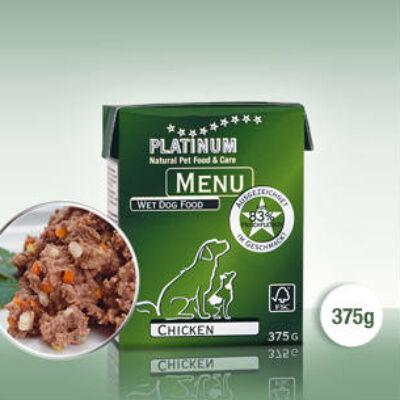 Platinum Menu csirke nedves kutyatáp (375 g)
