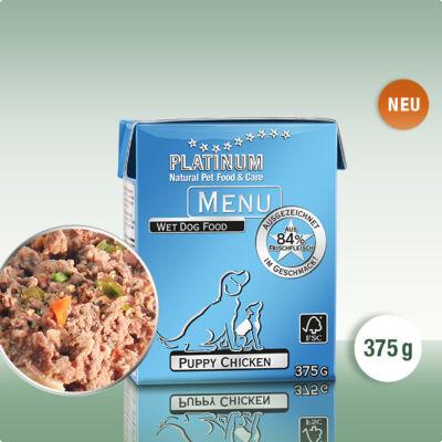 Platinum Menu Puppy Chicken - Kölyök Csirke (375 g)