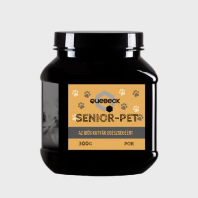 Quebeck Senior-Pet Egészségmegörző kiegészítő takarmány idős kutyák részére