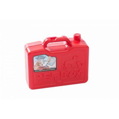 Kleinmetall Petbox etető itató piros