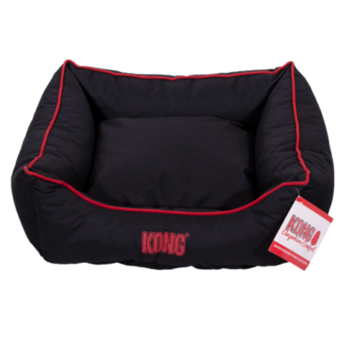 Kong Lounger Beds Medium fekete
