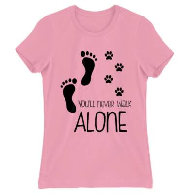 You will never walk alone póló
